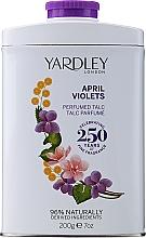 Parfums et Produits cosmétiques Yardley April Violets - Talc parfumé Viloet