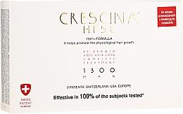 Parfums et Produits cosmétiques Traitement en ampoules pour cheveux - Labo Crescina Re-Growth Anti-Hair Loss Complete Treatment 1300 Man