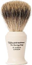 Parfums et Produits cosmétiques Blaireau de rasage, P376 - Taylor of Old Bond Street Shaving Brush Pure Badger size L