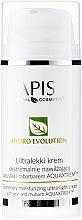 Parfums et Produits cosmétiques Crème aux extraits de poire et rhubarbe pour visage - APIS Professional Hydro Evolution Extremely Moisturizing Ultra-Light Cream