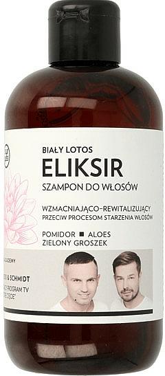 Shampooing revitalisant à l'extrait de tomate et aloe vera - WS Academy