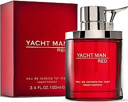 Parfums et Produits cosmétiques Myrurgia Yacht Man Red - Eau de Toilette