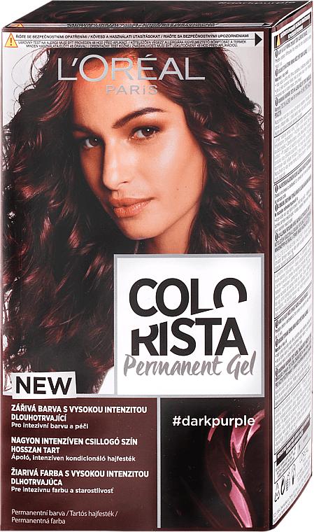 Coloration permanente pour cheveux - L'Oreal Paris Colorista Permanent Gel