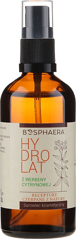 Hydrolat à la verveine citronnelle pour visage - Bosphaera Hydrolat