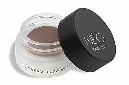 Parfums et Produits cosmétiques Crème teintée pour sourcils - NEO Make Up Pro Cream Brow Maker
