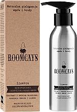 Parfums et Produits cosmétiques Shampooing à l'extrait de gingembre et aloès pour barbe - Roomcays Shampoo