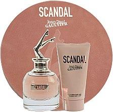 Parfums et Produits cosmétiques Jean Paul Gaultier Scandal - Coffret (eau de parfum/50ml + lotion corporelle/75ml)