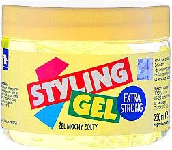 Parfums et Produits cosmétiques Gel coiffant fixation extra forte, jaune - Tenex Styling Gel