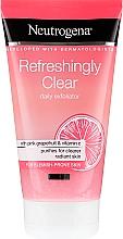 Parfums et Produits cosmétiques Gommage rafraîchissant au pamplemousse rose et vitamine C pour visage - Neutrogena Refreshingly Clear Daily Exfoliator
