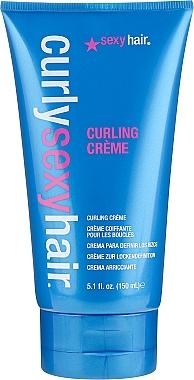 Crème coiffante à l'extrait d'avocat - SexyHair CurlySexyHair Curling Creme — Photo N1