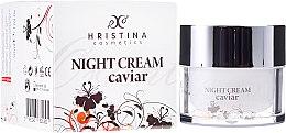 Parfums et Produits cosmétiques Crème de nuit aux extraits de caviar et camomille - Hristina Cosmetics Orient Caviar Night Cream
