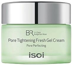 Parfums et Produits cosmétiques Crème-gel à l'huile de rose Bulgare - Isoi Bulgarian Rose Pore Tightening Fresh Gel Cream