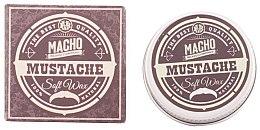 Parfums et Produits cosmétiques Cire à moustache au beurre de karité et noix de coco - Macho Beard Company Soft Natural Mustache Wax