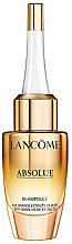 Parfums et Produits cosmétiques Sérum à l'extrait de rose pour visage - Lancome Absolue Repair Bi-Ampoule Concentrated