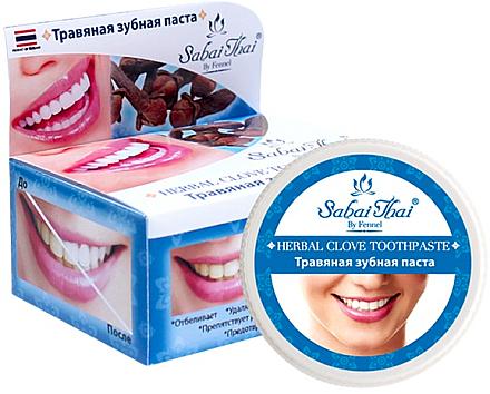 Dentrifrice aux herbes et au clou de girofle - Sabai Thai Herbal Clove Toothpaste