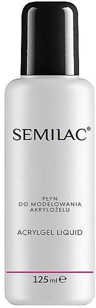 Liquide de modelage pour gel acrylique - Semilac Acrylic Gel Liquid