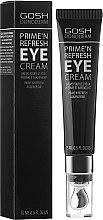 Parfums et Produits cosmétiques Crème contour des yeux - Gosh Donoderm Eye Cream