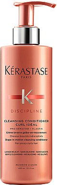 Après-shampooing pour cheveux bouclés indisciplinés - Kerastase Discipline Cleansing Conditioner Curl Ideal