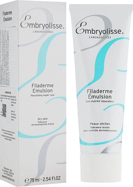 Émulsion visage à l'extrait de beurre de karité pour peaux sèches - Embryolisse Filaderme Emulsion