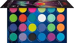 Parfums et Produits cosmétiques Palette de fards à paupières, 24 couleurs - Rude Cosmetics City of Neon Lights