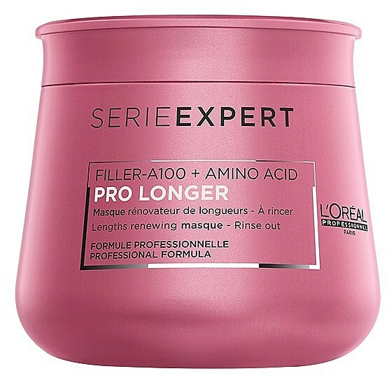Masque aux acides aminés pour cheveux - L'Oreal Professionnel Pro Longer Lengths Renewing Masque