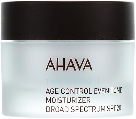Soin de jour à l'extrait de calendula, SPF 20 - Ahava Age Control Even Tone Moisturizer Broad — Photo N2