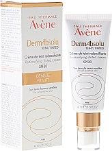 Parfums et Produits cosmétiques Crème de teint redensifiante à l'huile de jojoba - Avene Eau Thermale Derm Absolu Cream SPF30