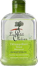 Parfums et Produits cosmétiques Démaquillant waterproof à l'extrait d'olive pour yeux - Le Petit Olivier Makeup Remover