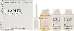 Parfums et Produits cosmétiques Kit de soins capillaires - Olaplex Traveling Stylist Kit (con 100 ml + 2 x elixir 100 ml)