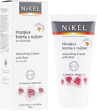 Parfums et Produits cosmétiques Crème à l'eau de rose de Damas pour visage - Nikel Nourishing Cream with Rose