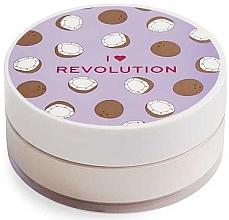 Parfums et Produits cosmétiques Poudre libre baking pour visage, Coco - I Heart Revolution Loose Baking Powder Coconut
