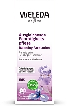 Soin équilibrant à l'iris pour visage - Weleda Iris Feuchtigkeitscreme — Photo N2