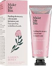 Parfums et Produits cosmétiques Gommage bio aux acides floraux pour visage - Make Me Bio Garden Roses Face Peeling With Floral Acids