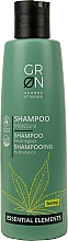 Parfums et Produits cosmétiques Shampooing hydratant à l'huile de chanvre - GRN Essential Elements Moisture Hemp Shampoo