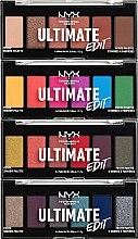 Parfums et Produits cosmétiques Palettes d'ombres à paupières - NYX Professional Makeup Ultimate Edit Petite Shadow Palette