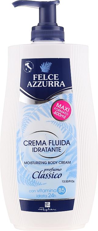 Crème à l'huile d'amande douce pour corps - Felce Azzurra Classic Moisturizing Cream
