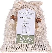 Parfums et Produits cosmétiques Coffret cadeau - Baylis & Harding Urban Barn Lime, Basil & Mint (b/cleanser/100 ml + b/cr/50ml)