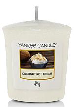 Parfums et Produits cosmétiques Bougie parfumée votive Crème de riz à la noix de coco - Yankee Candle Coconut Rice Cream Votive Candle