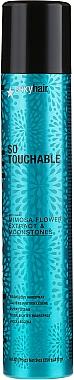 Laque finition légère - SexyHair HealthySexyHair Soy Touchable Weightliess Hairspray — Photo N1