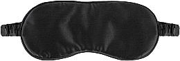 Parfums et Produits cosmétiques Masque de sommeil en soie naturelle, noir Sleepy - Makeup Sleep Mask Black