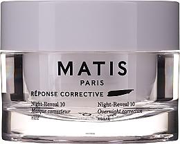 Parfums et Produits cosmétiques Masque de nuit à l'acide glycolique et hyaluronique - Matis Reponse Corrective Night Reveal 10 Overnight Corrective Mask