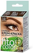 Parfums et Produits cosmétiques Fito Kosmetik FitoColor - Crème colorante pour sourcils et cils