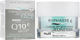 Parfums et Produits cosmétiques Crème de nuit à l'acide hyaluronique et coenzyme Q10 - Byphasse Lift Instant Cream Q10 Night Care
