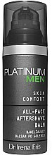 Parfums et Produits cosmétiques Baume après-rasage hydratant - Dr Irena Eris Platinum Men Skin Comfort Aftershave Balm