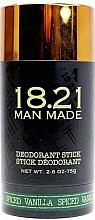 Parfums et Produits cosmétiques Déodorant stick - 18.21 Man Made Deodorant Stick Spiced Vanilla