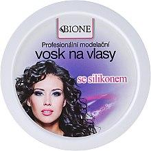 Parfums et Produits cosmétiques Cire coiffante avec silicone - Bione Cosmetics Professional Hair Wax Silicone