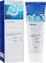 Parfums et Produits cosmétiques Mousse lavante à l'eau de collagène pour visage - FarmStay Collagen Water Full Moist Deep Cleansing Foam