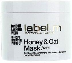 Parfums et Produits cosmétiques Masque au miel et avoine pour cheveux - Label.m Nourishing Mask Honey and Oats