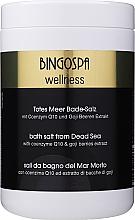 Parfums et Produits cosmétiques Sels de bain de la mer Morte à la coenzyme Q10 et baie de goji - BingoSpa Salt For Bath SPA of Dead Sea