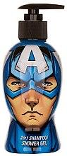 Parfums et Produits cosmétiques Gel douche et shampooing - Corsair Marvel Avengers Capitan America Shower Gel